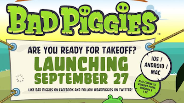 """Rovio prezantoi lojën """"Bad Piggies"""" për Android, iOS dhe Mac"""
