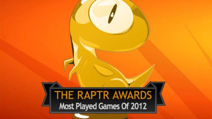 Cilat janë lojërat më të luajtura në vitin 2012