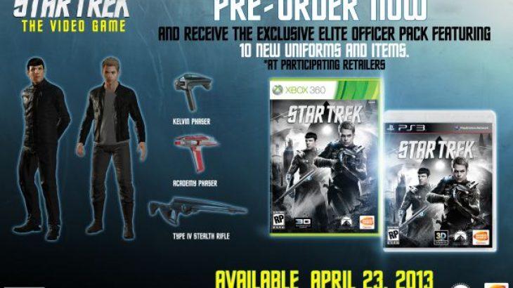 Bëhet e ditur data e lançimit të Star Trek: The Game