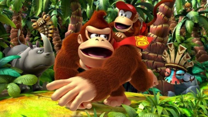 Donkey Kong Country Returns vjen në 3DS