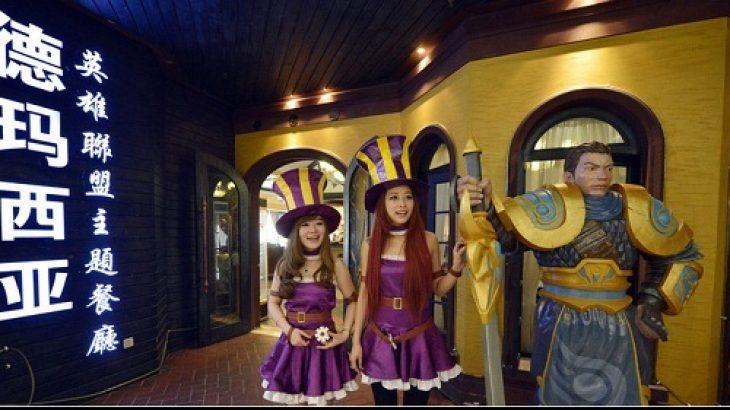 Kina ndërton një restorant me motiv nga League of Legends