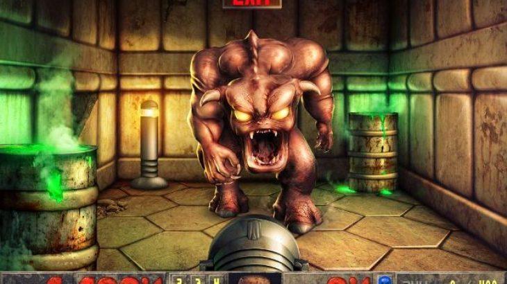 Imazhi klasik i Doom i nënshtrohet Photoshop-it