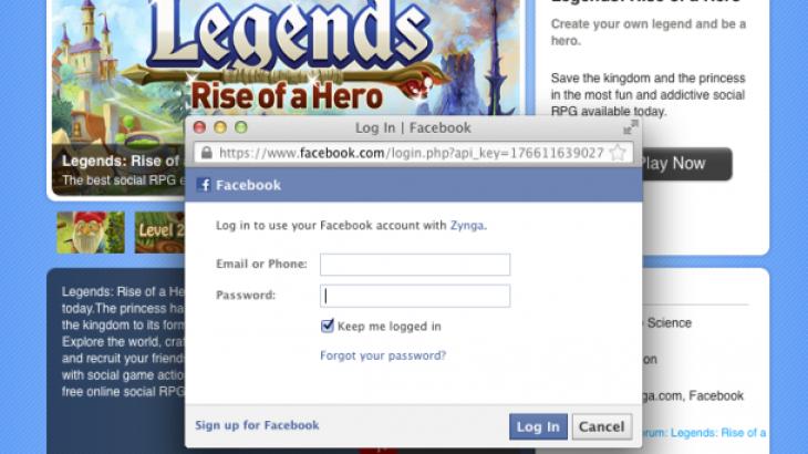 Zynga.com, lojtarët nuk do e kenë të detyrueshëm aksesin nëpërmjet Facebook-ut