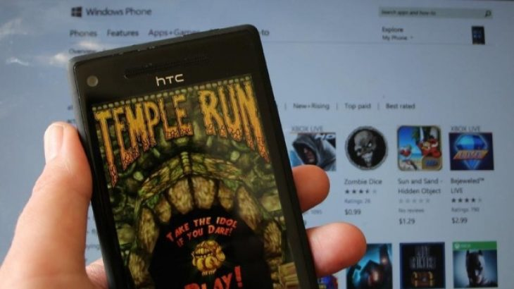 Temple Run dhe disa lojëra të tjera së shpejti për Windows Phone