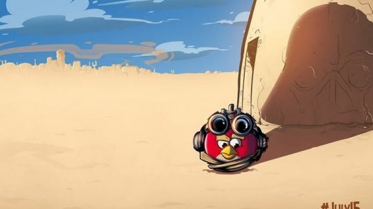 Rovio ngacmon lojën e re Angry Birds Star Wars
