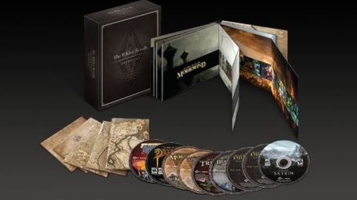 Paraqitet The Elder Scrolls Anthology