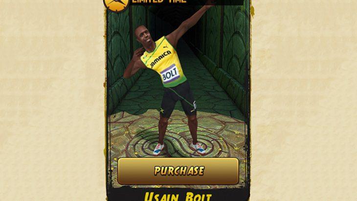 Shtohet përkohësisht karakteri Usain Bolt për Temple Run 2