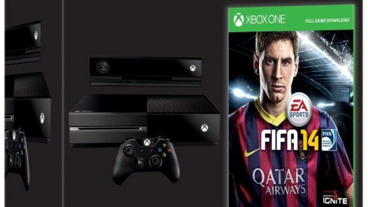 Para-porositjet e Xbox One do të shoqërohen me FIFA 14 falas