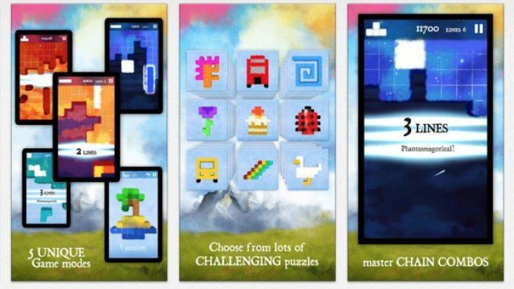 Dream of Pixels, loja e kundërt me Tetrisin vjen për Android