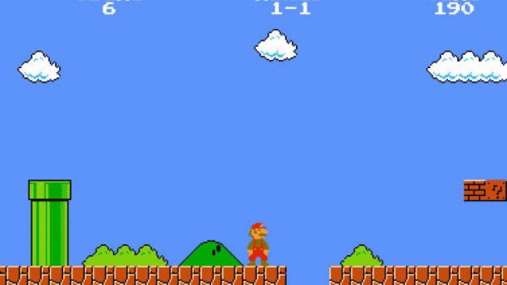 Luani Super Mario online të zhvilluar duke përdorur HTML5