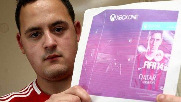 Dha 547 euro për të blerë Xbox One, mori një copë letër
