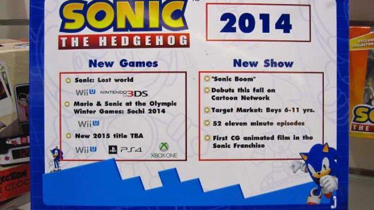 Loja e re Sonic mund të arrijë në Xbox One, PS4, Wii U në vitin 2015