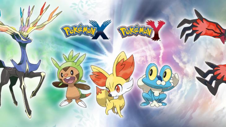 Pokemon X/Y falas me blerjen e sistemit dhe një loje