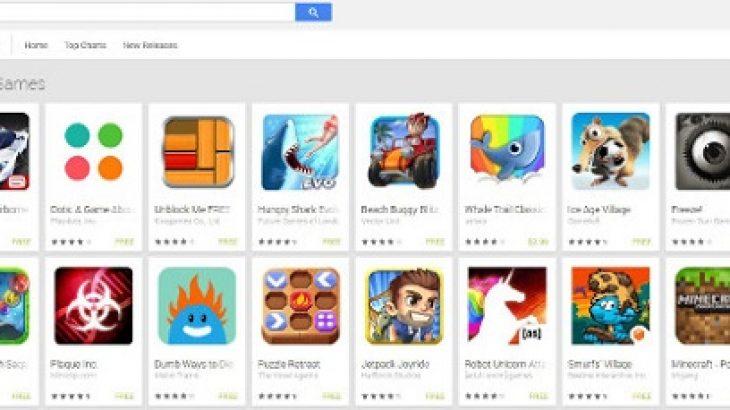 Play Store do të ketë një seksion për lojërat e pavarura nga interneti