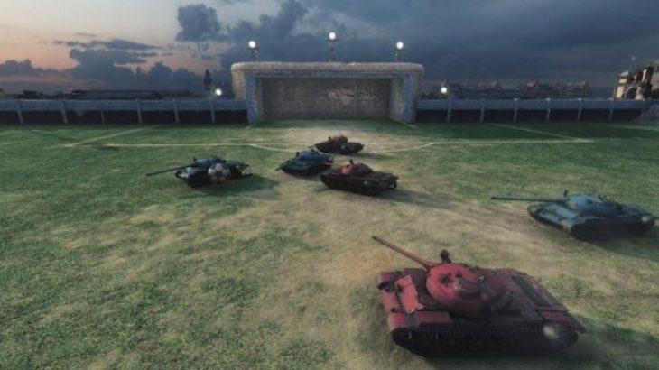 World of Tanks merr një formë për futboll për Kupën e Botës 2014