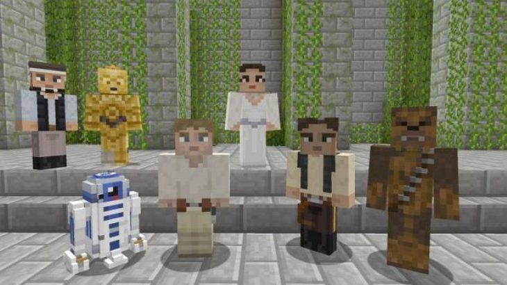 Minecraft për Xbox merr pako ekskluzive të frymëzuar nga Star Wars