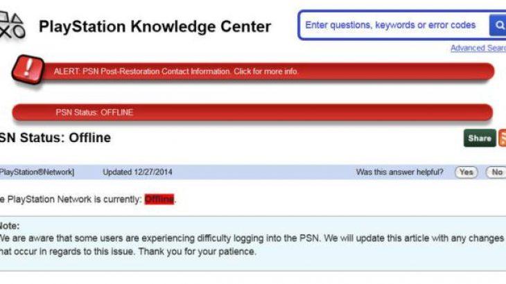 Rrjeti i PlayStation ka shfaqur probleme në orët e fundit pas sulmit