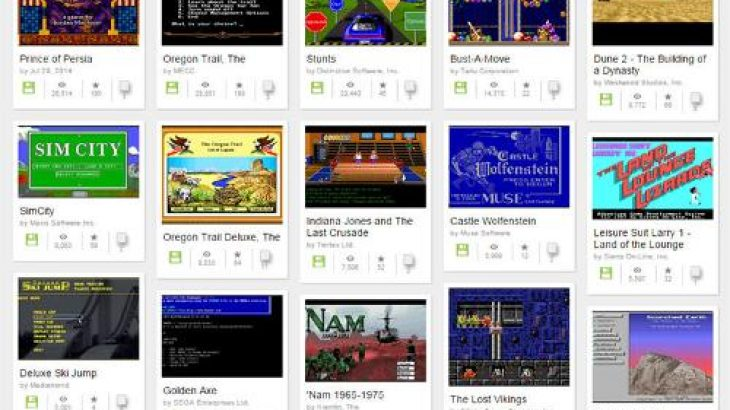 Internet Archive rikthen online 2.000 lojëra klasike MS-DOS falas