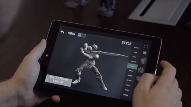 """Lojtarët e """"Infinity Blad III """" mund të porosisin modele të printuara 3D të personazheve të lojës"""