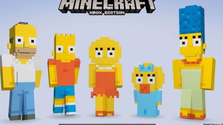 Të famshmit The Simpsons do të vijnë në Minecraft Xbox muajin që vjen