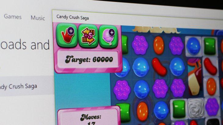 Candy Crush Saga ka mbërritur në platformën desktop të Windows 10-tës