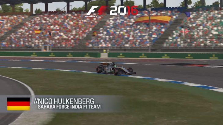 Codemasters publikojnë një xhiro të nxehtë në F1 2016 të çmimit të madh të Gjermanisë