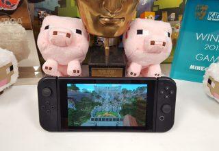 Konfirmohet Minecraft për konsolën Nintendo Switch